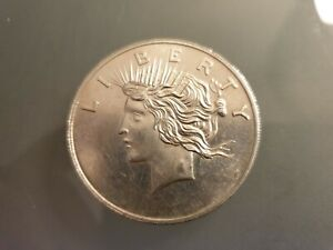 1 TROY OUNCE SILVER BULLION. 999 BAR COIN ROUND FREEDOM LIBERTY EAGLE