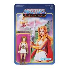 SUPER 7 REACTION MASTERS OF THE UNIVERSE WAVE 5 SHE-RA 10CM ACTION FIGURE