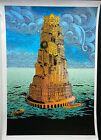 Chuck Sperry Art Print Tower of Babel.  Edition of 20.