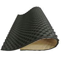 Silent Sound Absorber 20mm Acoustic Foam 2 Sheets Deadening Proofing 50cm X 50cm
