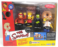 Playmates The Simpsons Treehouse of Horror Ironic Punishment 4 Figure Set