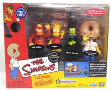 Playmates The Simpsons Treehouse of Horror Ironic Punishment 4 Figure Set