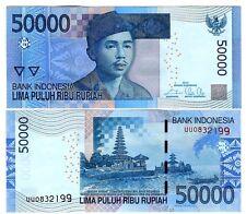 INDONESIEN INDONESIA 50000 50.000 RUPIAH 2014/2005 UNC P 152