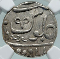 1829 (FE 1239) INDIA BRITISH OLD Bombay Presidency Silver RUPEE Coin NGC i87158