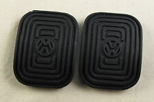 VW Split screen Bus Beetle Bug T1 ghia T3 Clutch & Brake Pedal rubber pad  2x