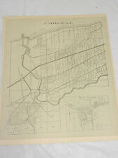 1874 Antique Map//ASHTABULA TOWNSHIP, ASHTABULA COUNTY, OH