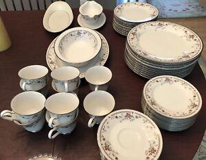 Incomplete Set Vintage Noritake Adagio Pattern China