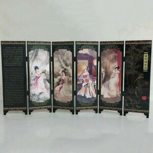 Room Screen Divider 48*24*0.6cm Oriental Privacy Separator Frame Chinese