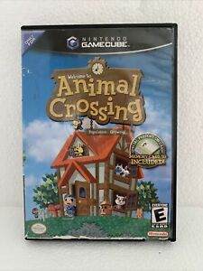 Animal Crossing Nintendo GameCube 2002 Just Case And Disc.