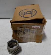 "BRIDGEPORT 1-1/2"" COMPRESSION COUPLING 264-DC  LOT OF 10"