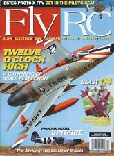 Fly RC Magazine March 2015 Twelve O'Clock High Scale Perfection Phoenix Spitfire