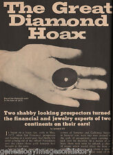 Philip Arnold & John Slack's Great Diamond Hoax+Harpending,Hill,Janin,King