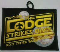 """STAR WARS """"THE LODGE STRIKES BACK"""" TU CUBIN NOONIE 508 OA BSA SCOUT PATCH RARE"""