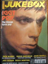 JUKEBOX MAGAZINE n°167 - IGGY POP J.COCKER  J.MAYALL  RADIO BIRDMAN  RIVERS