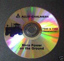 Farm Tractor Sales DVD for Allis Chalmers 7040 7060 AC -More Power On The Ground
