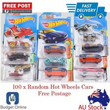 100 x Random Brand New Hot Wheels Showdown Diecast Cars Fast Shipping From Melb