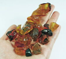 31.7g Natural Polished Dominican Blood Red Amber YRLX430
