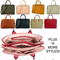 Ladies Laptop Bag Briefcase Womens Work Bag Large Tote Designer Office Handbag