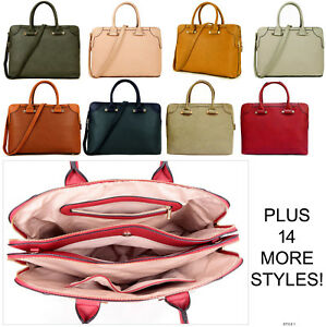 Ladies Laptop Bag Briefcase Womens Work Bag Large Tote Designer Office Handbag