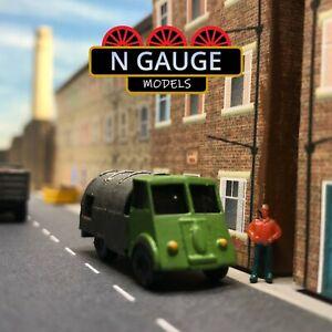 Classic Bin Lorry  N Gauge Scale 1:148 (Ready to go!) Garbage Truck