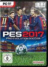 Pro Evolution Soccer 2017 (PC, 2016, DVD-Box) Neu & OVP