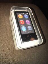 APPLE iPod Nano 2015 Factory Sealed BRAND NEW 16 GB Space Gray Bluetooth Mp3
