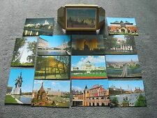 lot cartes postales Moscou Russie Russian postcards Moscow