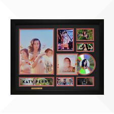 Katy Perry Signed & Framed Memorabilia - 1CD - Black/Red Edition - NEW