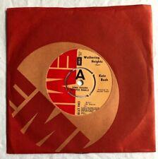 "KATE BUSH - Wuthering Heights - Original UK EMI Promo/Demo 7"" (Vinyl Record)"