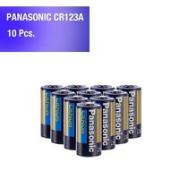 10 pcs Panasonic Lithium CR123A 3V Photo Lithium Batteries - Tracking Included!