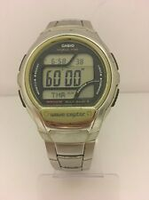 CASIO Wave Ceptor WV-58U World Time Multi Band 5 LCD  Quartz Collectible Watch