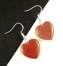 Hook Simulated Goldstone Fashion Earrings