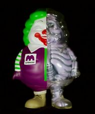 Signed Ron English X-Ray Mc Super Sized Black Friday Burgers in Belly Figure
