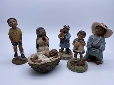 Vintage Lot of 6 Martha Holcombe All God's Children Figurines