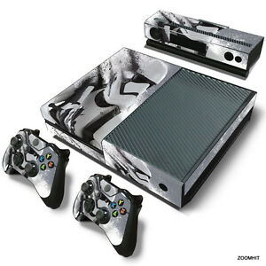 Xbox One Console Skin Decal Sticker Star Wars Stormtrooper + 2 Controller Skins