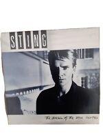 Sting - The Dream Of The Turtles - Vinyl LP Album  -  DREAM  1 Excellent  Vinyl