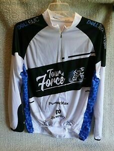 Tour of Fonce Dell EMC Bike Cycling Jersey