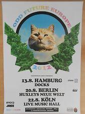 ODD FUTURE EUROPE  2012  TOUR - orig. Concert Poster - Konzert Plakat  A1  NEU