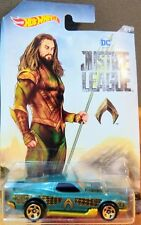 2017 Hot Wheels Dc Justice League #5 Blvd Bruiser Aquaman Brand New