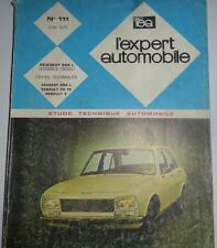 Revue technique PEUGEOT 504 L RTA EXPERT AUTOMOBILE N° 111 1975
