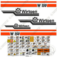Wirtgen W150 Decal Kit Cold Plainer Sticker Set 7 Year Vinyl (W 150)
