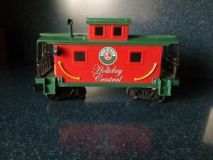 Lionel G Gauge Holiday Central Christmas RED CABOOSE Train Car Beautiful