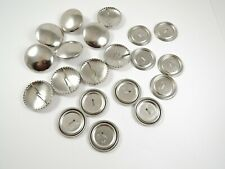 10 x 29mm Newey Metal Self Cover Easy Cover Button Buttons