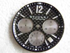 CADRAN DIAL BVLGARI TITANIUM DIAGONO NOIR AUTOMATIC CHRONO 31,7 mm