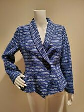Pendleton Blue Back Tweed Jacket Blazer 4P