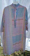 Vintage 60s 70s Catherine Ogust Penthouse Gallery Pastel Signed Caftan Dress