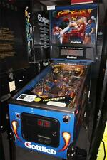 STREET FIGHTER II Pinball Machine - Gottlieb 1993 - Classic Crossover Action!