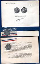 V République 1959 - ESSAI 2 Francs 1978 Semeuse + encart  SUP FDC