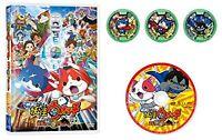 Yo-Kai Yokai Youkai Watch the Movie The Secret is Created Nyan DVD region2 JAPAN