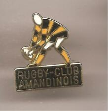 Pin's pin RUGBY CLUB AMANDINOIS (ref CL23)